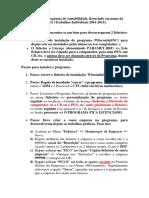 Instalação Do Programa de Contabilidade 2015