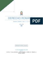 DERECHO ROMANO II-LAS OBLIGACIONES