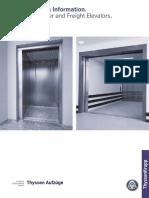 Planning for Elevators