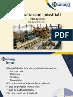 1.Introducción a La Automatización Industrial
