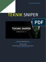 TEKNIK SNIPER