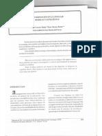 La Intervencioìn en El Lenguaje - Modelos y Estrategias