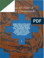 Revista Del Centro de Estudios Constitucionales. Número 1, Septiembre-Diciembre (1988)