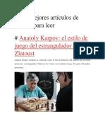 Los 7 mejores artículos de ajedrez para leer.pdf
