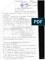 Management and Entrepreneurship Notes Module 1