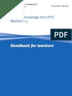 Teaching Knowledge Test (TKT) Modules 1-3.pdf