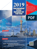 2019 China International Fertilizer Development and Trade Forum