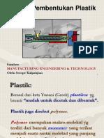 8. Pembentukan Plastik
