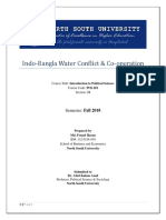 Indo-Bangla Water Conflict & Co-operation
