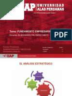 FUNDAMENTO EMPRESARIAL  SEMANA 4-El Analisis Estrategico (2)