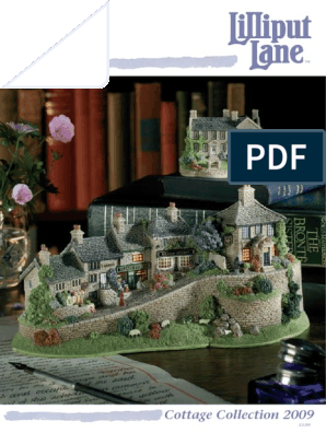 cottage home house lilliput-lane-katalog-2009 pdf | Palace
