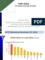 3. Geetam Tiwari-Transport Safety
