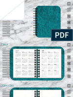 2019 Digital Planner (weekly, monthly, daily) pdf