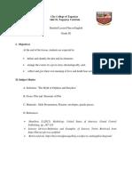 Detailed Lesson Plan for Demo Teaching