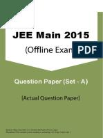 JEEMain 2015 Offline