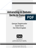 70931780 Advancing in Debate Skills and Concepts