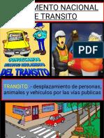 Reglamento Nacional de Transito 016 Ppt