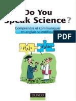 Comprendre Et Communiquer en Anglais Scientifique
