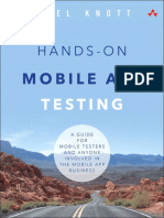 Daniel Knott - Hands-On Mobile App Testing_ a Guide for Mobile Testers and Anyone Involved in the Mobile App Business (2015, Addison-Wesley Professional)