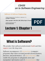 Software Engineering CH 1 Slides