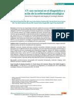 18F FDG Pet CT uso racional en la enfermedad oncologica.pdf