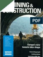 Tuneli i konstrukcije