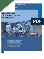 Manual Sistema Transmision Fuerza Automoviles Embrague Caja Velocidades Diferencial