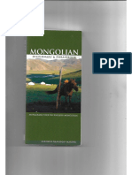 Mongolian Dictionary & Phrasebook