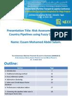 Pipelines risk assessment