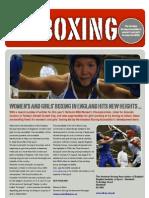 Women's Boxing Newsletter