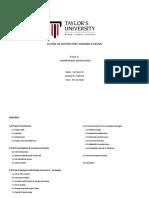 Architectural Comprehensive Design Report