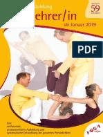 Yogalehrer-Ausbildung - 2 Jahre