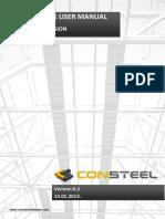 ConSteel 6 1 Manual ENG EC