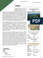 Great Wall of China - Wikipedia