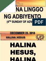 English Mass Es Dec 23 18