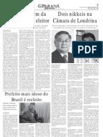 Nikkeis na Câmara de Londrina - entrevista