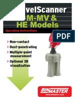 3DLevelScanner S-M-MV & HE Hardware Manual