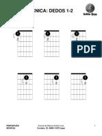 Técnica Dedos 1-2 -Guitarra & Violão