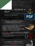 Direito, História e Valor - Versão Final