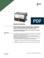 LGB Burner Controls n7435en