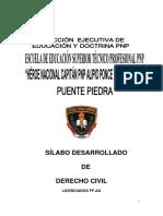 Silabo Derecho Civil