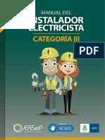 Manual Instalador Electricista CatIII-1