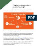Specialisti Magento e Agenzie Magento Tips e Tricks Per La Scelta