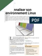 Personnaliser Son Environnement Linux