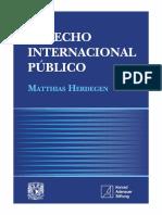 Herdegen Matthias Derecho Internacional Publico