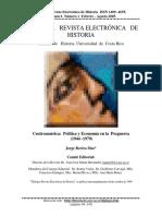 Política y Economía de Postguerra 1944-1979