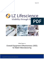 5866 Overall Equipment Effectiveness Oee for Batch Manufacturing