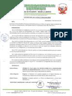 RESOLUCION DE ALCALDIA N°010-2016-MDJ