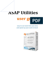 ASAP Utilities User Guide