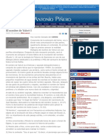 2007-02-18 El Nombre de Yahvé I G. Del Cerro [13 de 3084]